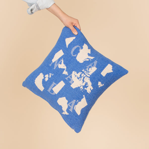 Camp Pillow Cover - Canada Map