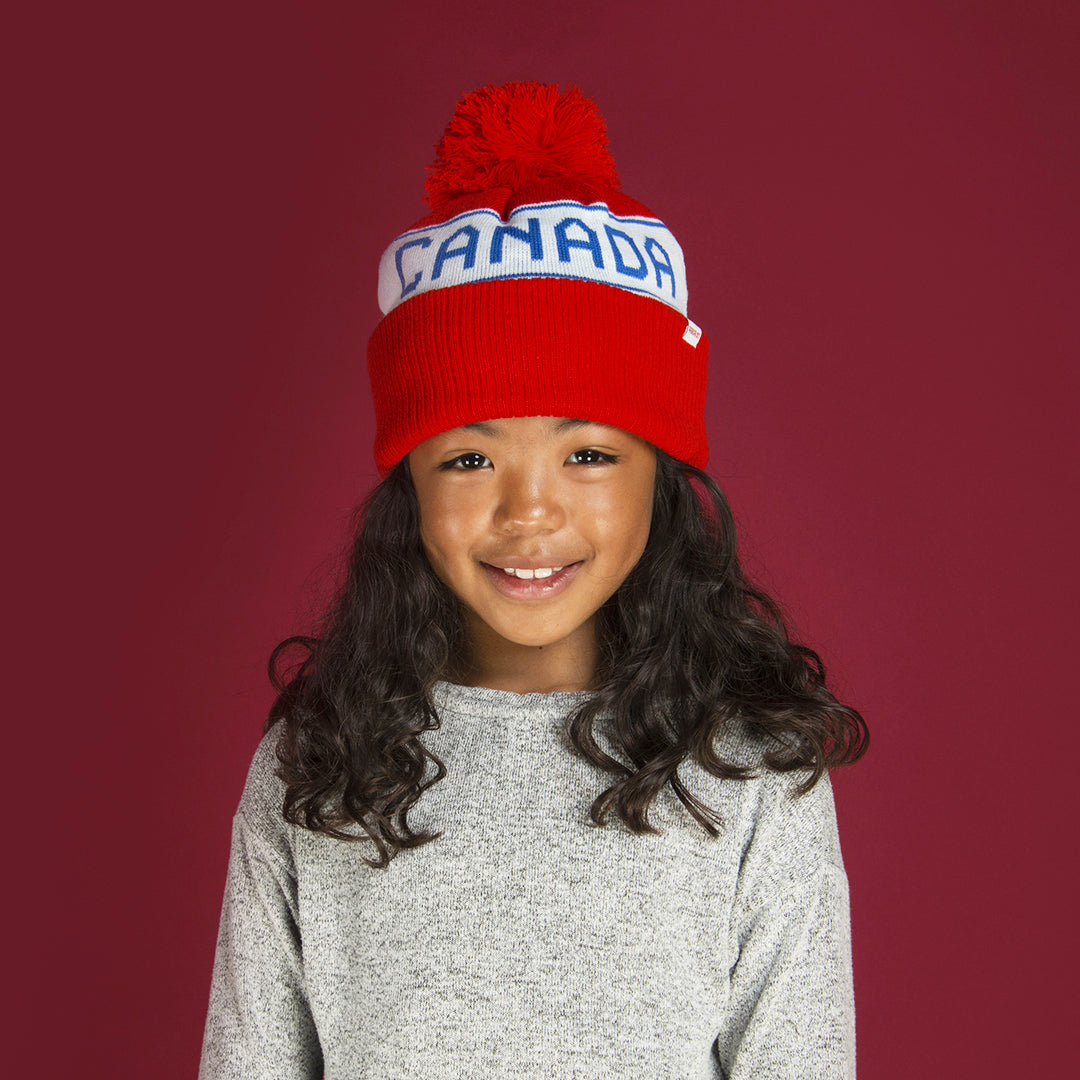 Canadiana Kids Toque - Canada