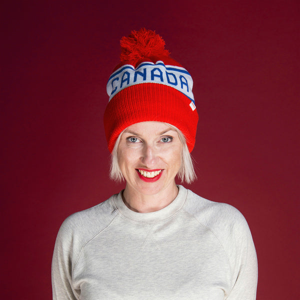 Canadiana Adult Toque - Canada