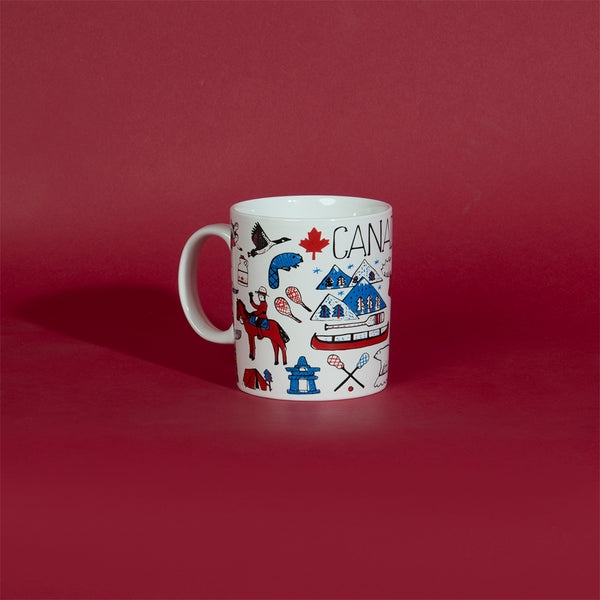 Canadian Icons Mug