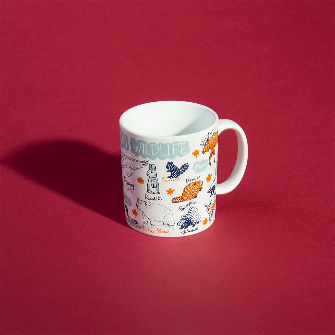 Canadian Wildlife Mug