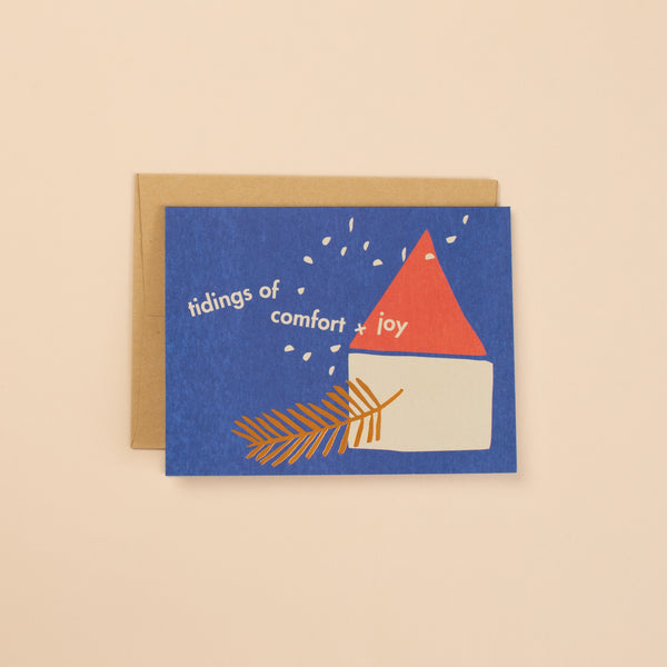 Tidings Greeting Card