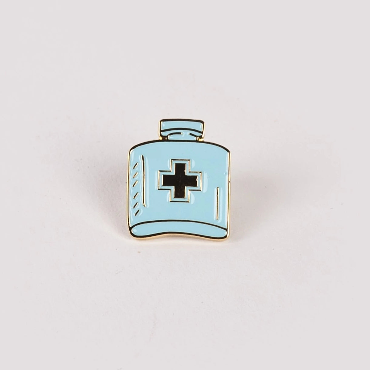 Enamel Pin -Flask