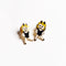 Enamel Pin - Dancing Twin Girl Emoji Set