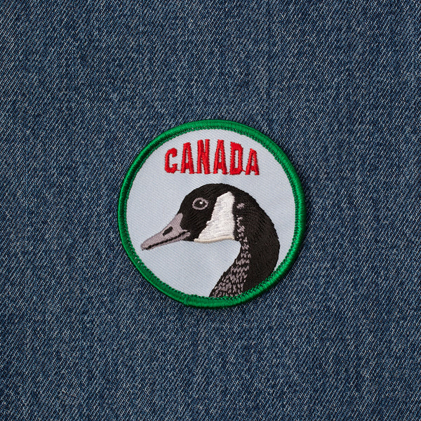 Iron on Patch - Goose