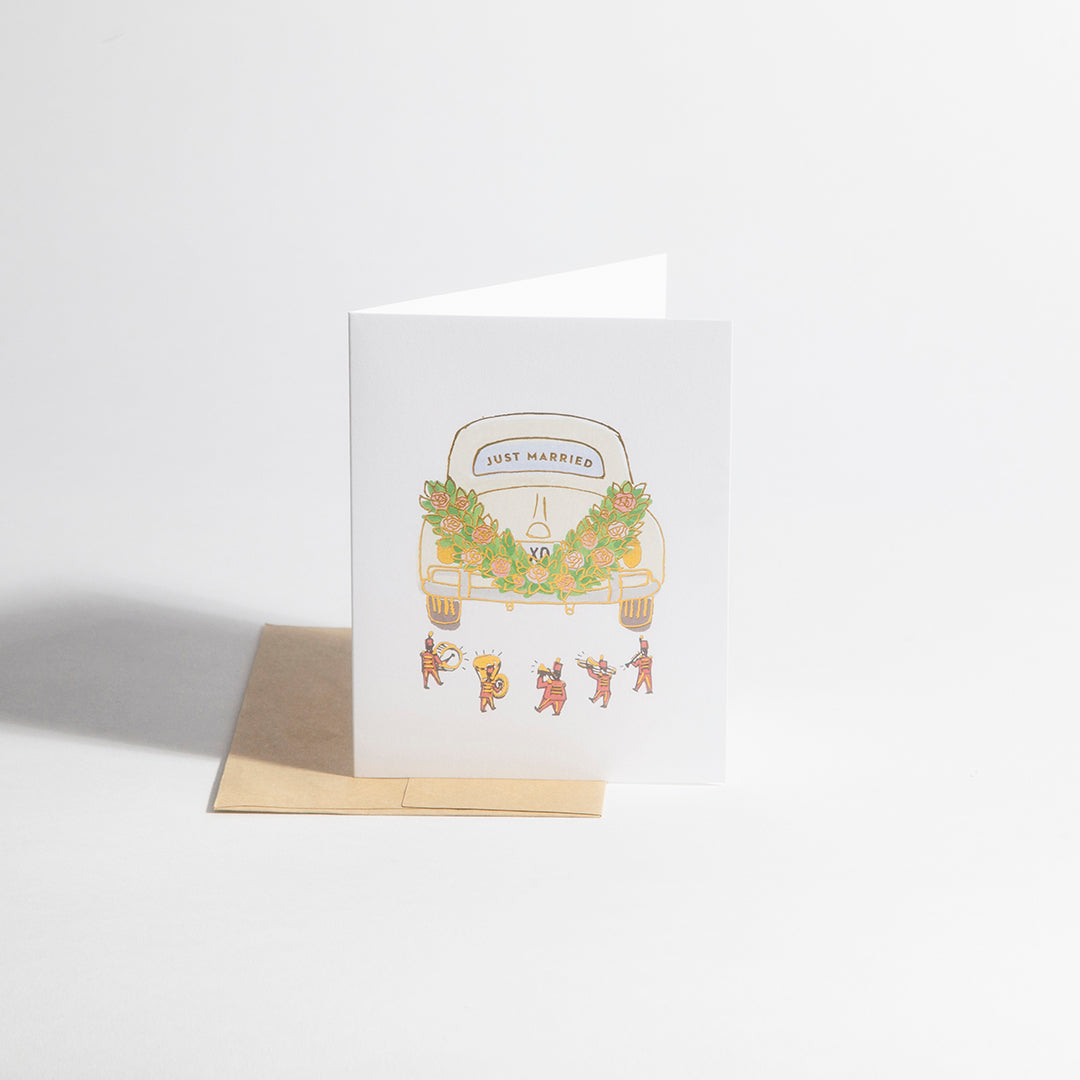 Greeting Card – Just Married