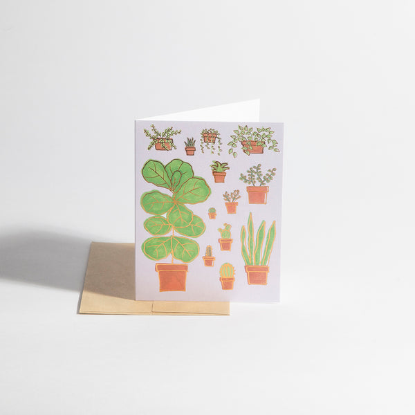 Greeting Card – Plant Life