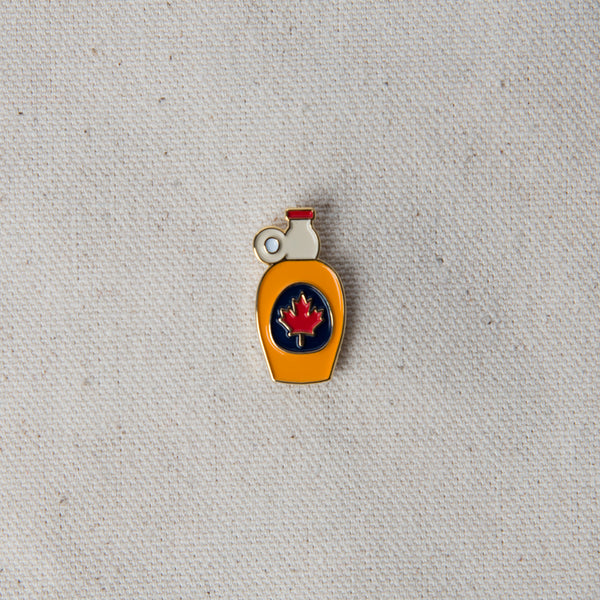 Enamel Pin - Maple Syrup