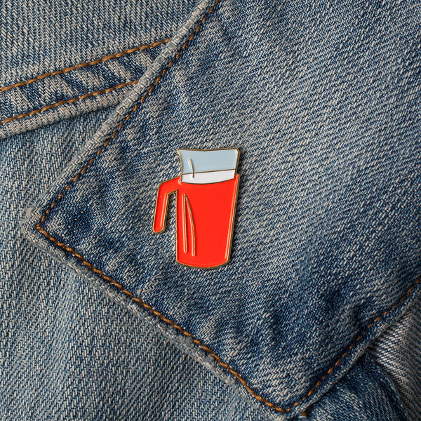 Enamel Pin - Milk Bag
