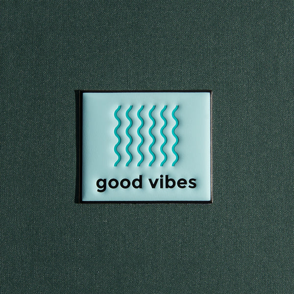 Puff Sticker - Good Vibes