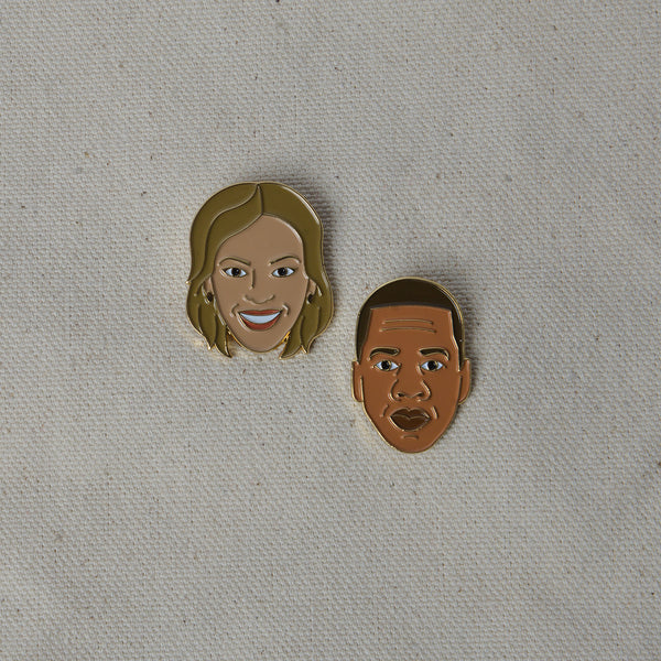 Enamel Pin - Bey & Jay Set