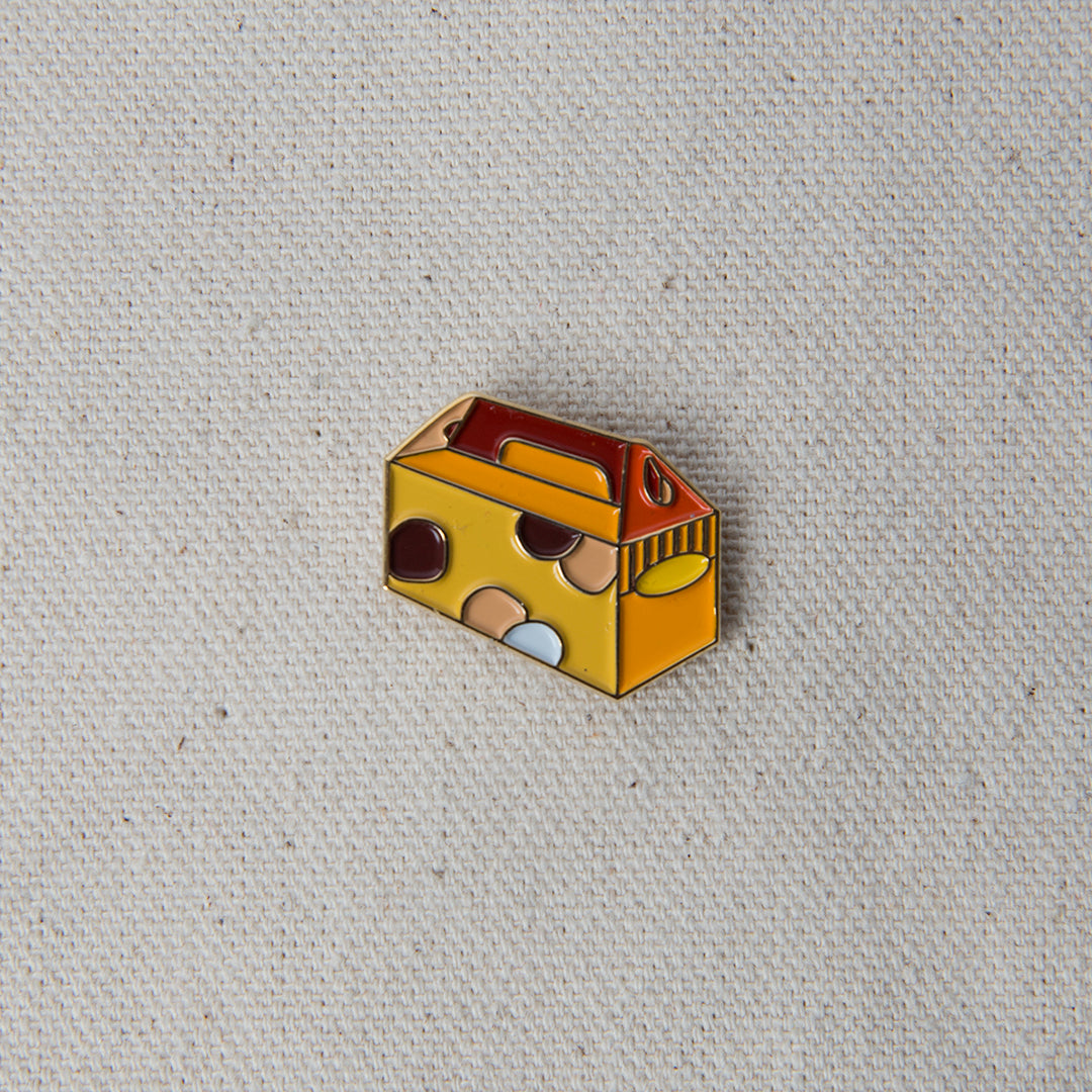 Enamel Pin - Donut Hole