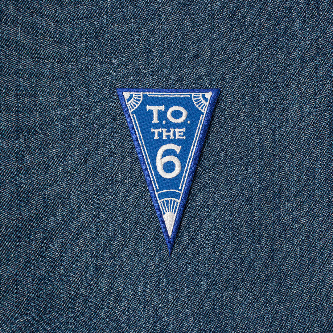 Iron On Patch - Toronto Pennant