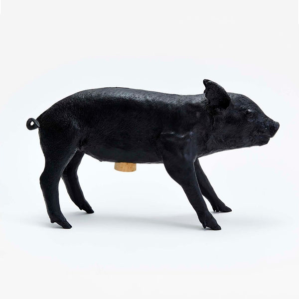 Piggy Bank - Matte Black