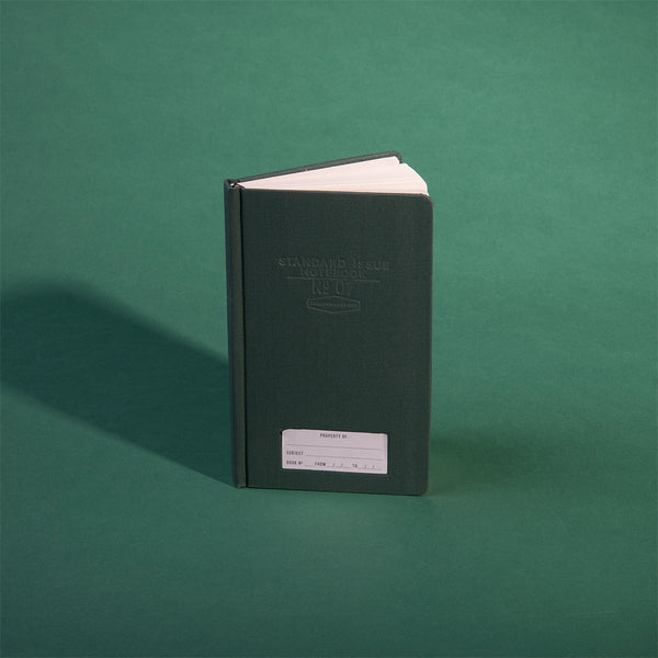 Standard Issue Planner Notebook No.07 - Green