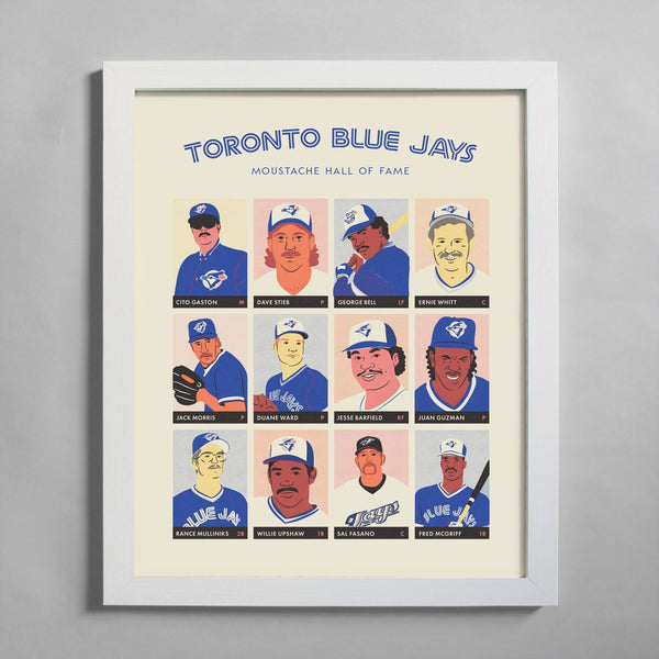 Toronto Blue Jays Moustache Hall of Fame
