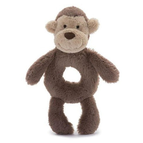 Bashful Monkey Rattle