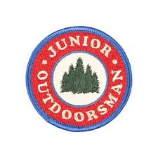 Iron on Patch - Junior Outdoorsman