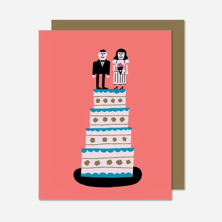 Marriage Cake Card