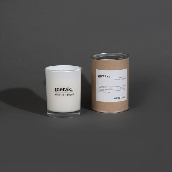 White Tea + Ginger Candle - Large