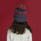 Kids Navy Mountie Toque