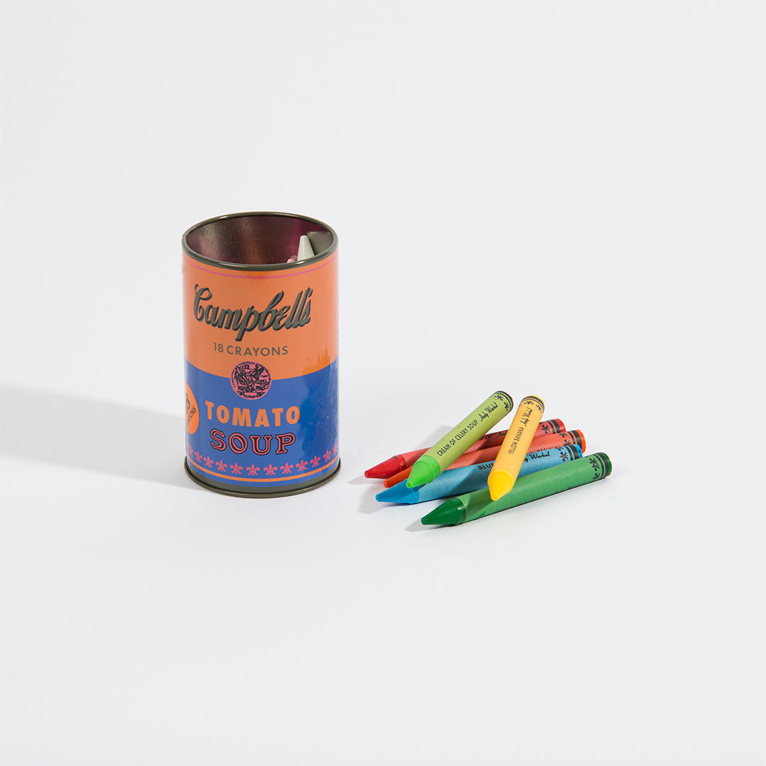 Soup Can Crayons - Orange
