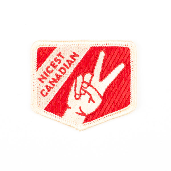 Merit Badge - Nicest Canadian