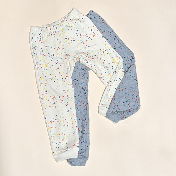 Kids Terrazzo Sweat Pant - Natural