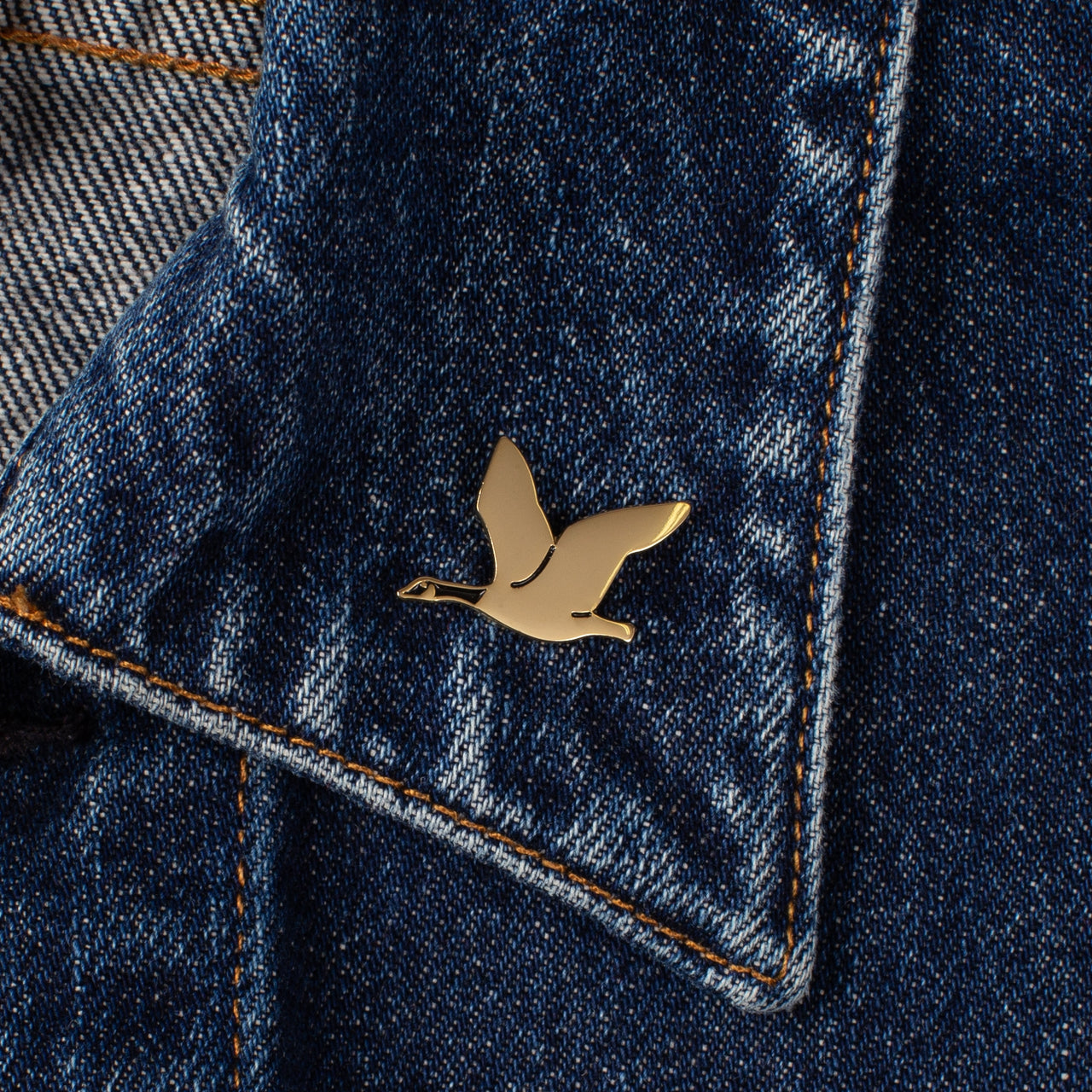Enamel Pin - Flying Goose