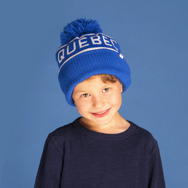 Canadiana Kids Toque - Quebec
