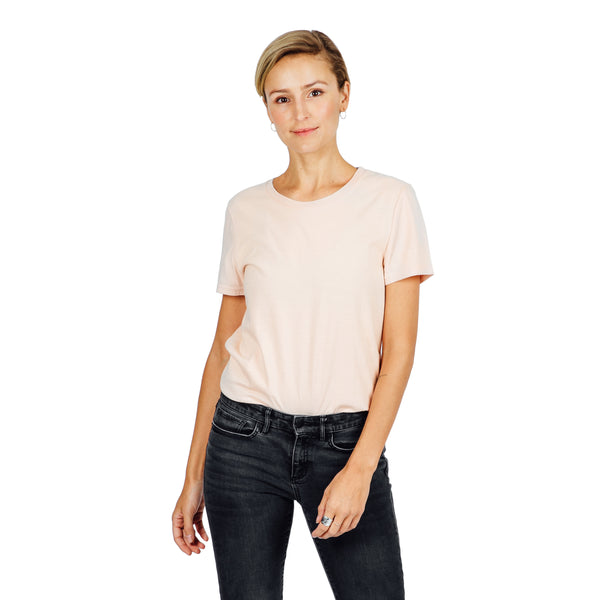 Women's Refined Fit Tee - Blush