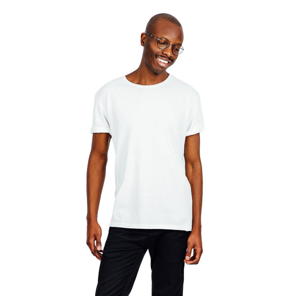 Refined Fit Organic Cotton Tee - White