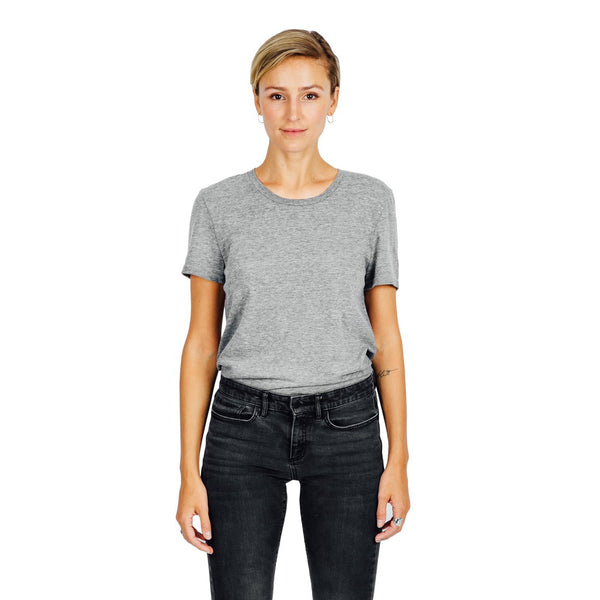 Women's Refined Fit Tee - Grey Mix