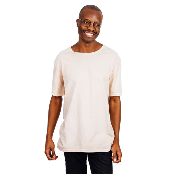 Men's Relaxed Fit Tee - Blush