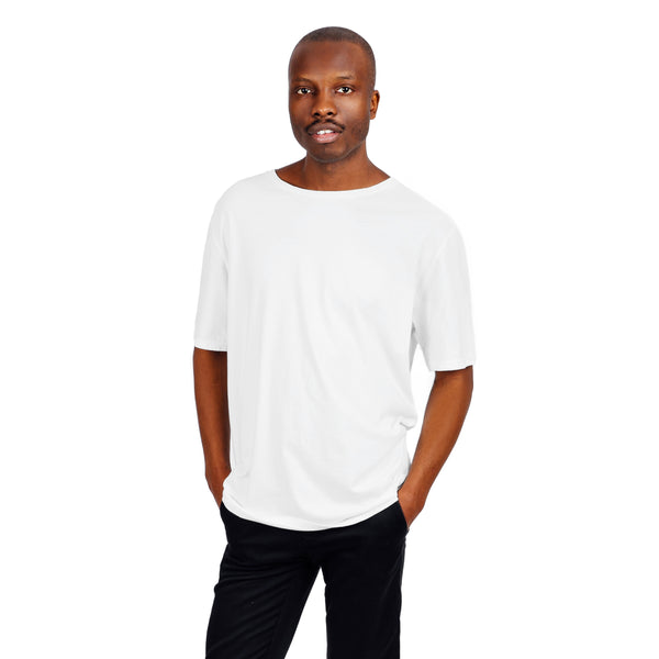 Men's Relaxed Fit Tee - White
