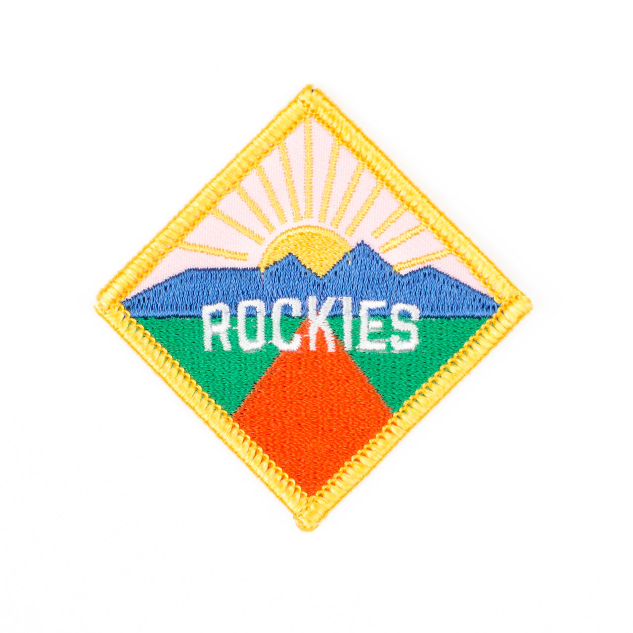 Iron on Patch - Rockies
