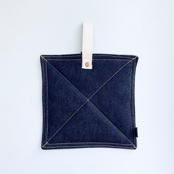 Denim Sawyer Potholder