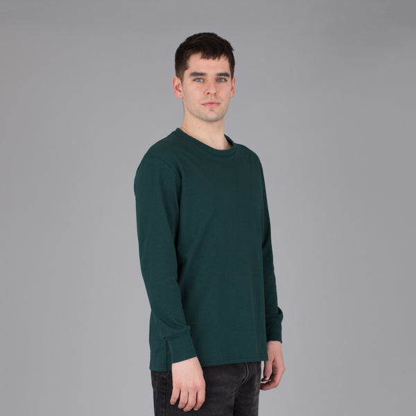 Men's Current Fit Long Sleeve Tee - Emerald