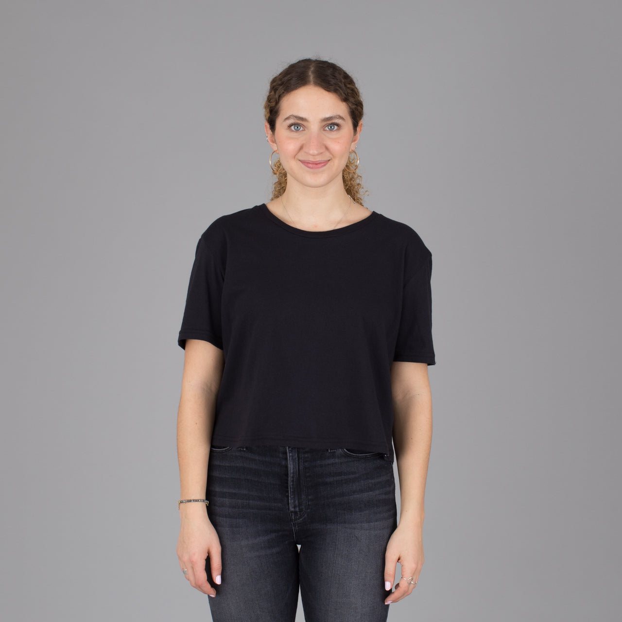 Current Fit Organic Cotton Tee - Black