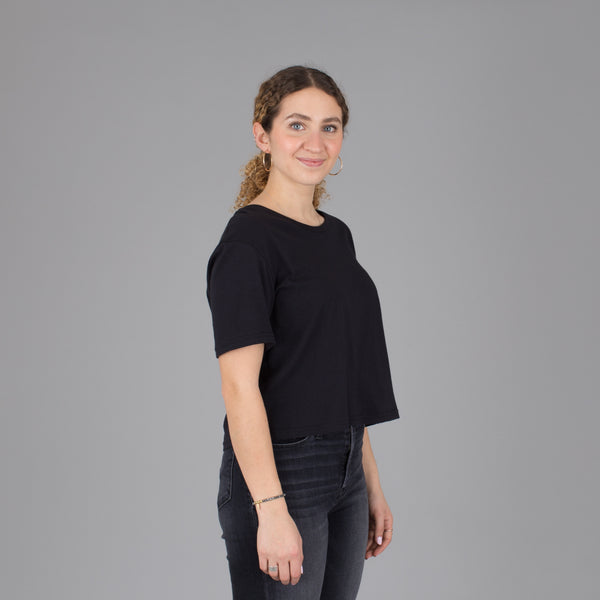 Women's Current Fit Tee - Black