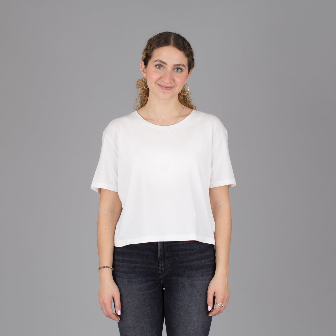 Current Fit Organic Cotton Tee - White