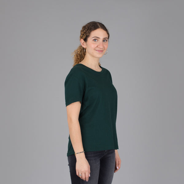 Women's Relaxed Fit Tee - Emerald