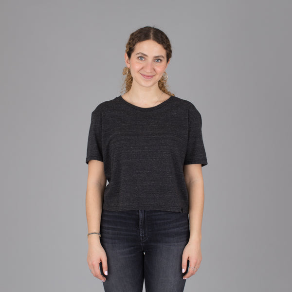 Women's Current Fit Tee - Charcoal