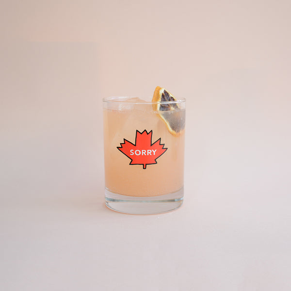 Sorry Maple Leaf Bar Tumbler