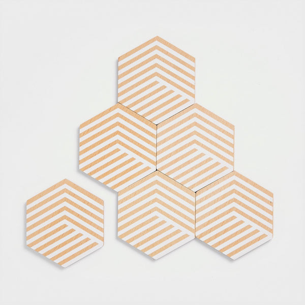 Table Tiles – Optic White
