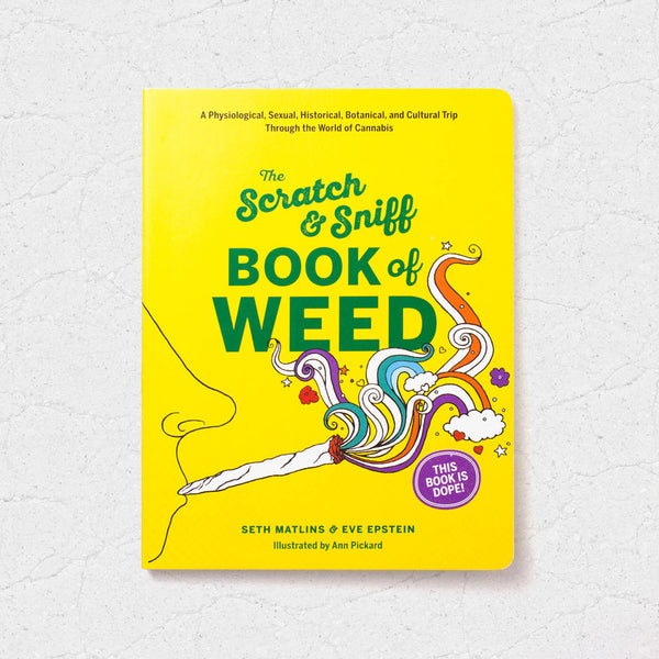Scratch & Sniff Book of Weed