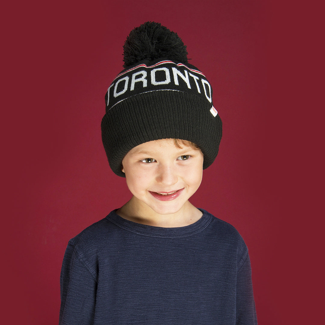 Canadiana Kids Toque - Toronto
