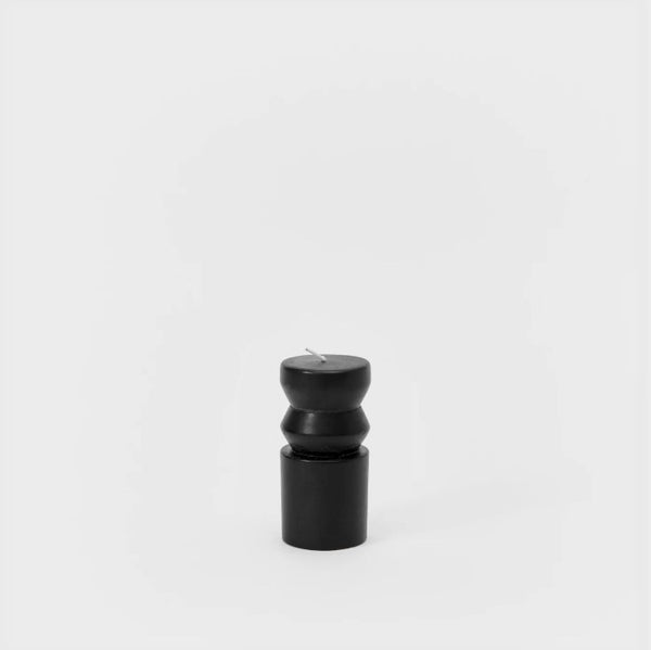 Small Totem Candle - Black