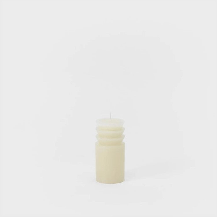Small Totem Candle - White