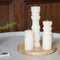 Large Totem Candle - White
